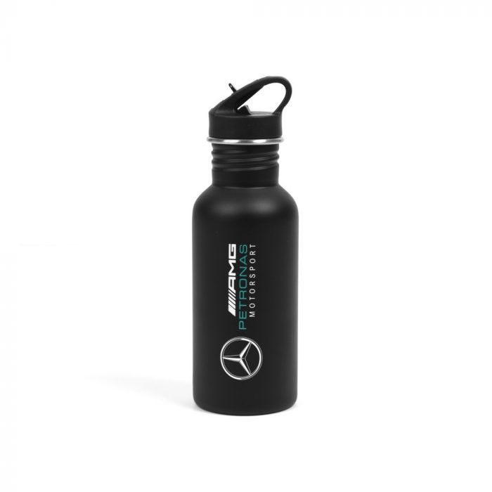 2018, Black, 500 ml, Mercedes Logo Sport flask
