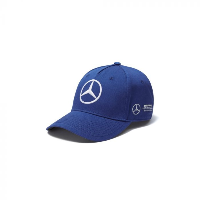 2018, Blue, Adult, Mercedes Bottas Baseball Cap