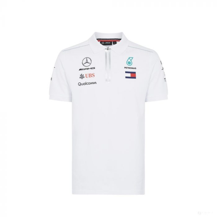 2018, White, M, Mercedes Team Polo