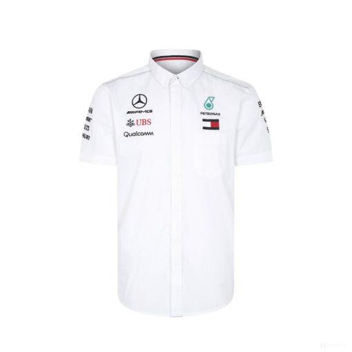 2018, White, S, Mercedes Team Shirt