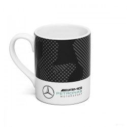 2019, Black, 330ml, Mercedes Camo Mug