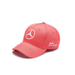 2019, Cayenne red, Adult, Mercedes Lewis Hamilton Baseball Cap - British GP
