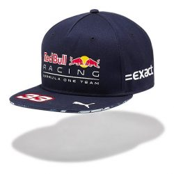 2017, Blue, Adult, Red Bull Verstappen Baseball Cap