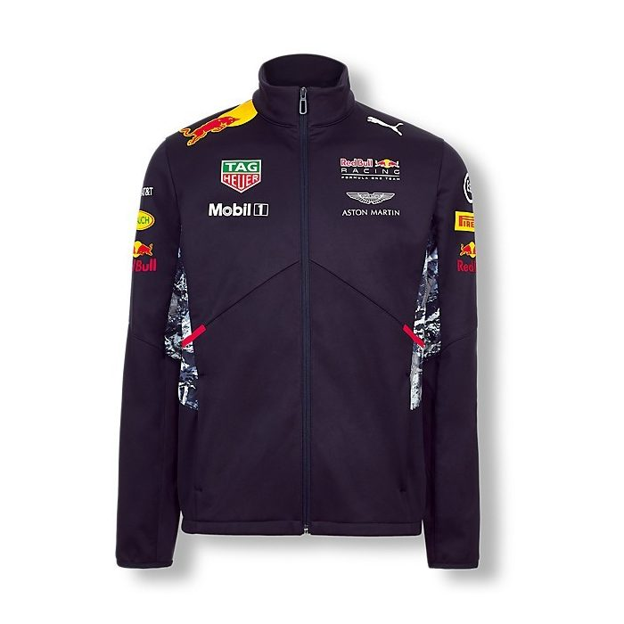 2017, Blue, S, Red Bull Softshell Team Jacket
