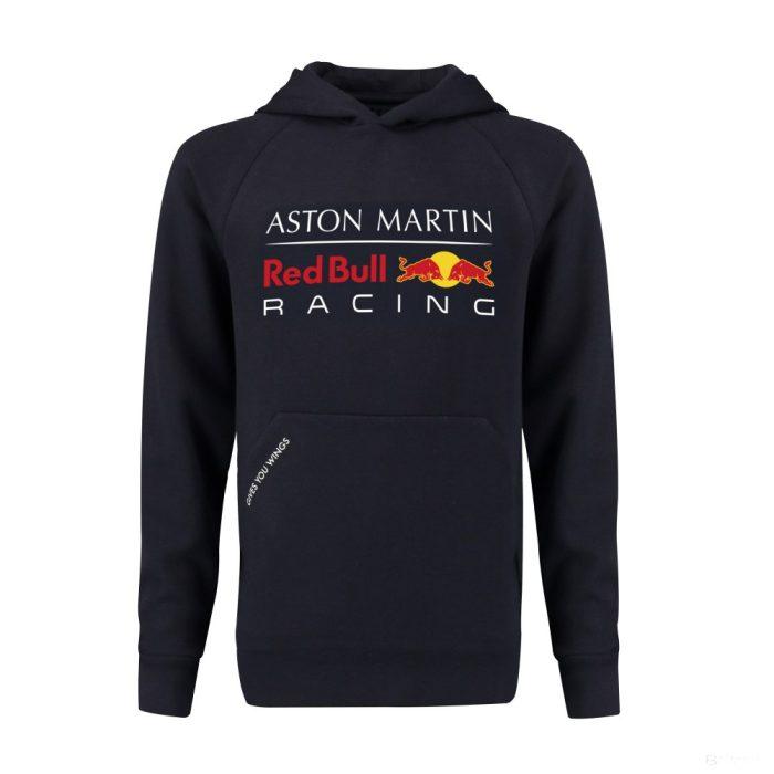 2018, Blue, 128, Red Bull Kids Hooded Logo Sweater