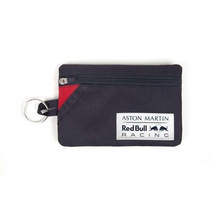 2018, Blue, Red Bull Logo Wallet with Carabiner