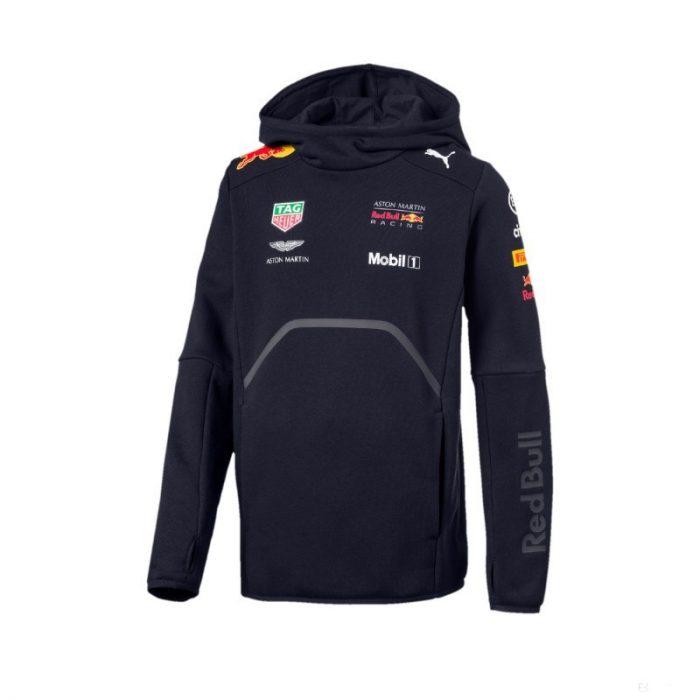 2018, Blue, 104, Red Bull Kids Team Sweater