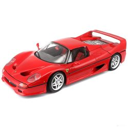 2018, Red, 1:18, Ferrari Ferrari F50 Model Car