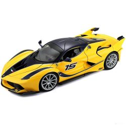 2018, Yellow, 1:18, Ferrari Ferrari FXX-K Model Car