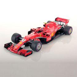 2018, Red, 1:18, Ferrari SF71H Räikkönen Modell Car