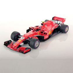 2018, Red, 1:18, Ferrari SF71H Räikkönen Modell Car