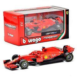 2019, Red, 1:43, Ferrari SF71H Modell Car