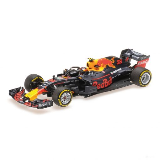 2018, Blue, 1:43, Red Bull Racing RB14 Modell Car