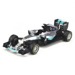 2016, Grey, 1:43, Mercedes F1 W07 Hybrid Hamilton Model Car