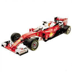 2018, Red, 1:18, Ferrari SF16-H Vettel Model Car