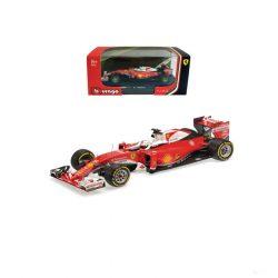 2016, Red, 1:43, Ferrari SF16-H Vettel Model Car