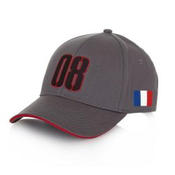 2016, Grey, Adult, Haas Grosjean Baseball Cap