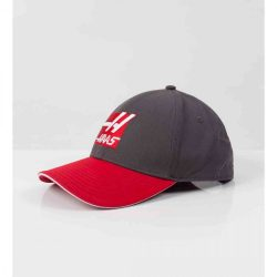 2017, Grey, Adult, Haas Fan Baseball Cap