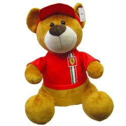 2018, Red, 55 cm, Ferrari Teddy Bear