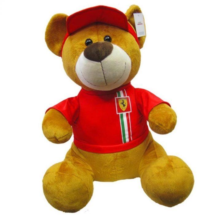 2018, Red, 55 cm, Ferrari Teddy Bear