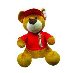 2018, Red, 30 cm, Ferrari Teddy Bear