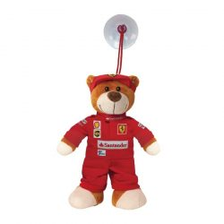 2018, Red, 14 cm, Ferrari Teddy Bear