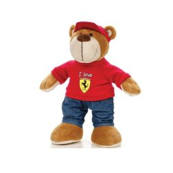 2018, Red, 26 cm, Ferrari Teddy Bear