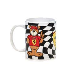 2018, Black, 300 ml, Ferrari Teddy Bear Mug