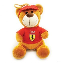 2019, Red, 30 cm, Ferrari Teddy Bear