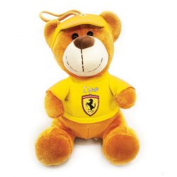 2019, Yellow, 30 cm, Ferrari Teddy Bear