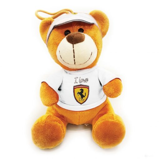 Ferrari Teddy Bear, White, 2019 - FansBRANDS