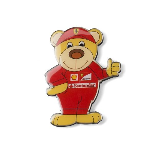 Ferrari Teddy Bear Fridge Magnet, Red, 2016 - FansBRANDS