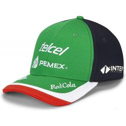 2019, Blue, Adult, Racing Point Sergio Perez Baseball Cap - Mexican GP