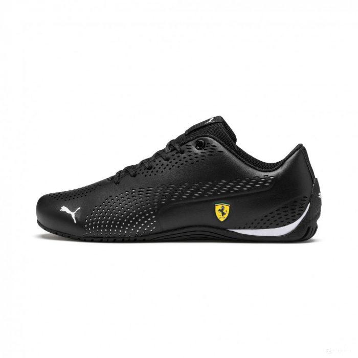 2019, Black, 46, Puma Ferrari Drift Cat 5 Ultra II Shoes