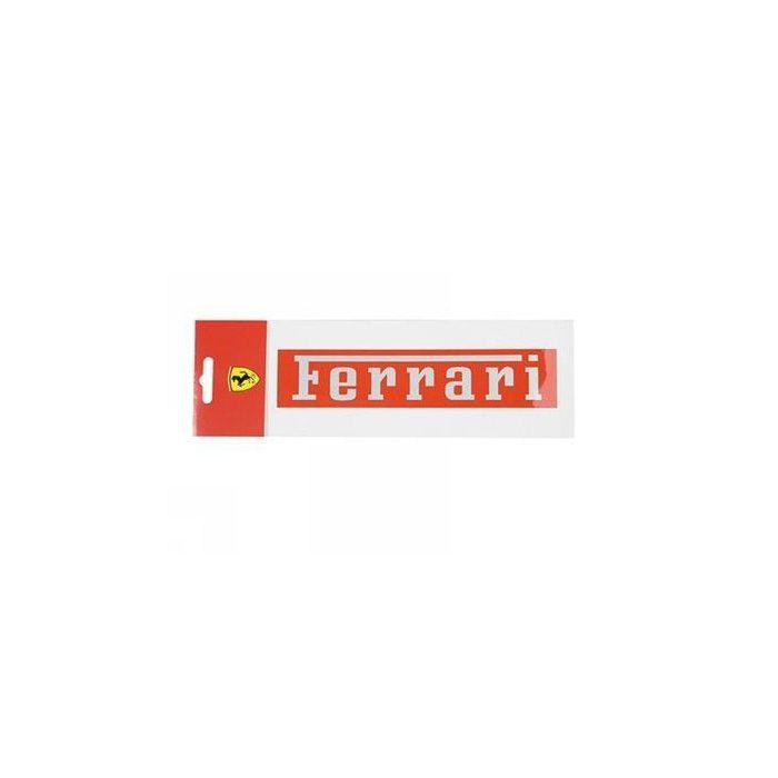 2012, Red, 19x4 cm, Ferrari Ferrari Sticker