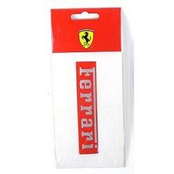 2012, Red, 11x2 cm, Ferrari Ferrari Sticker