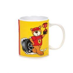 2018, Red, 300 ml, Ferrari Love Ferrari Teddy Bear Mug