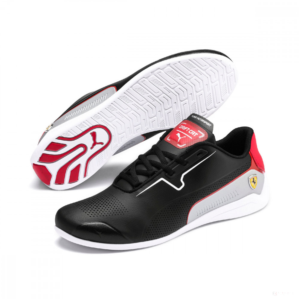 2020, Black,5, Puma Ferrari Drift Cat 8 Shoes