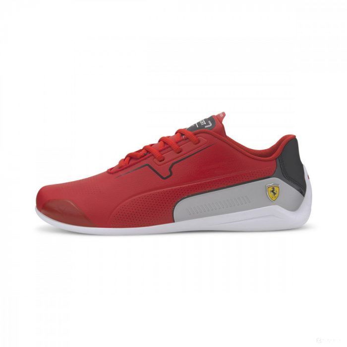 2020, Red, 40,5, Puma Ferrari Drift Cat 8 Shoes