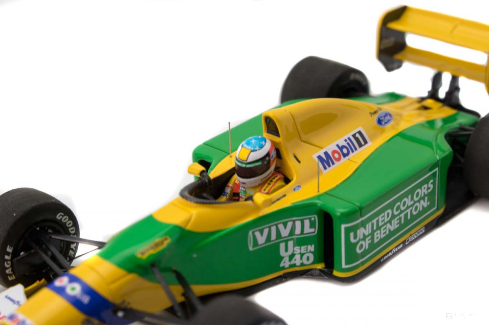 2020, Yellow, 1:43, Michael Schumacher Benetton Ford B192 ...