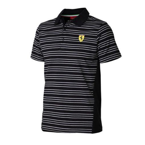 Ferrari striped Polo, Black, 2015 - FansBRANDS