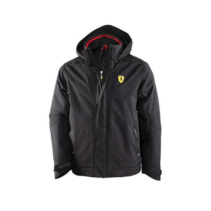 2016, Black, S, Ferrari Padded Winter Jacket