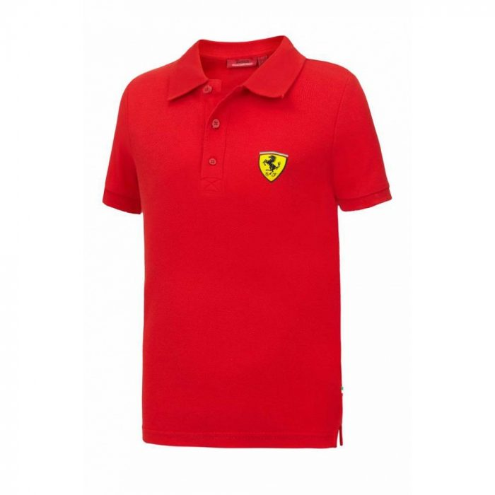 2015, Red, 5-6 years, Ferrari Kids Polo