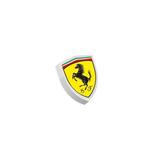 Ferrari Scudetto Rubber, Yellow, 2018 - FansBRANDS