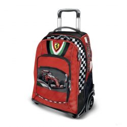 2018, Red, 30x47x23 cm, Ferrari Scudetto Trolley