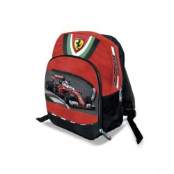 2019, Red, 30x20x12 cm, Ferrari Scudetto Mini Backpack