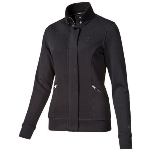 Puma Ferrari Womens Lifestyle Sweater, Black, 2015 - FansBRANDS