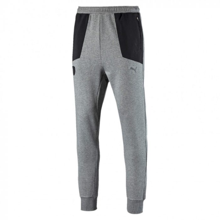 2017, Grey, XXL, Puma Ferrari Scudetto Team Pants