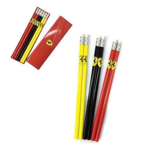 Ferrari Pencil Set, Multicolor, 2018 - FansBRANDS