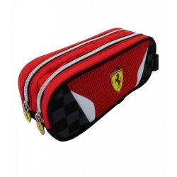 2018, Red, 22x9x8 cm, Ferrari Scudetto Pencil Case